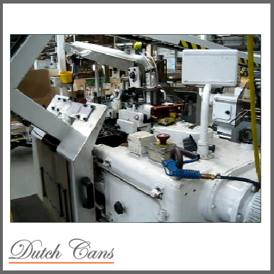 Complete 57 mm Aerosol can manufacturing line