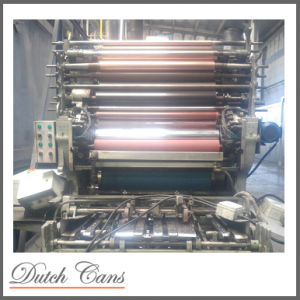 Crabtree single colour printing line with MB oven