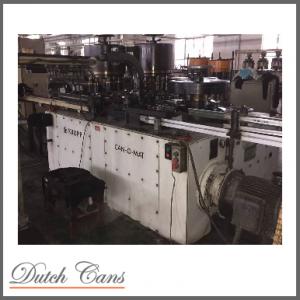Krupp CAN-O-MAT I Automatic Necker/Flanger/Seamer