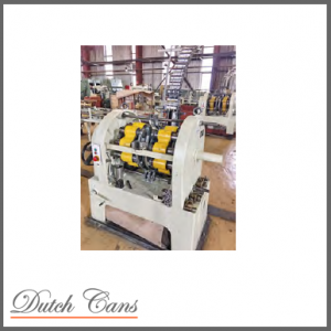 Complete 99 mm paint can manufacturing line
